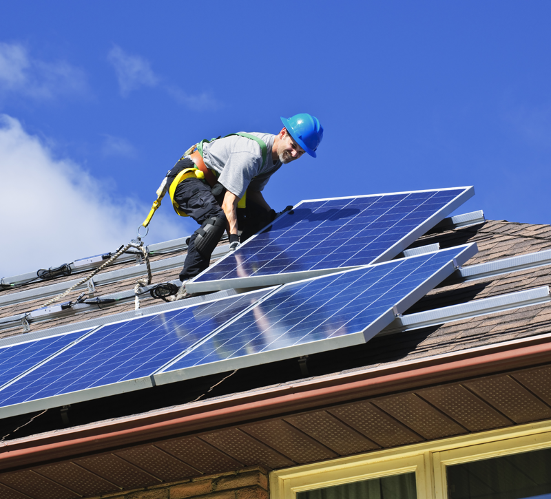 how to install a solar panel system in your home