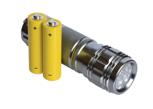 power outage survival kit flashlights and batteries