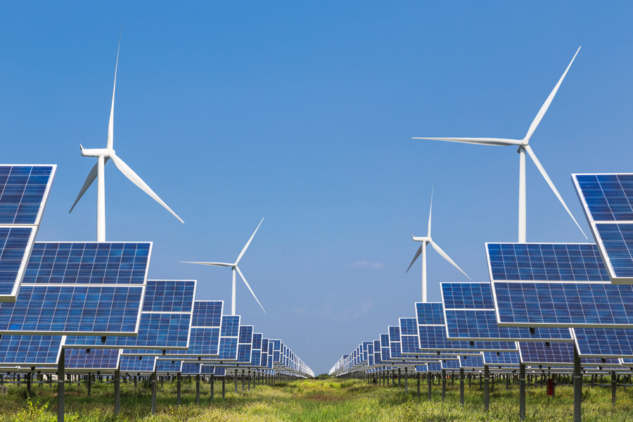 renewable energy saves a lot of electrical power